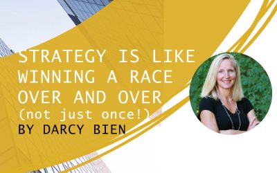 Strategy is Like Winning a Race Over and Over (not just once!)